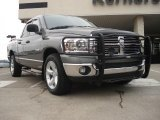 2008 Mineral Gray Metallic Dodge Ram 1500 Big Horn Edition Quad Cab #42874069