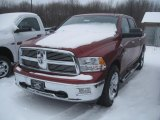 2011 Deep Cherry Red Crystal Pearl Dodge Ram 1500 SLT Crew Cab 4x4 #42874110
