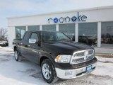 2011 Rugged Brown Pearl Dodge Ram 1500 Laramie Crew Cab 4x4 #42873754
