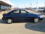 Indigo Blue Metallic Chevrolet Cavalier in 2002