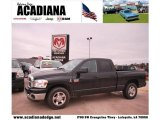2009 Brilliant Black Crystal Pearl Dodge Ram 3500 Lone Star Edition Quad Cab #42873776