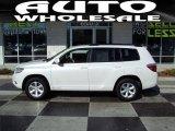 2010 Blizzard White Pearl Toyota Highlander V6 #42873965