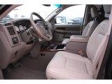 2008 Dodge Ram 3500 Laramie Resistol Mega Cab 4x4 Dually Khaki Interior
