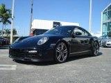2007 Black Porsche 911 Turbo Coupe #42873999