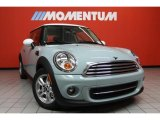 2011 Ice Blue Mini Cooper Hardtop #42874006