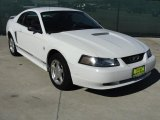 2001 Oxford White Ford Mustang V6 Coupe #42873841