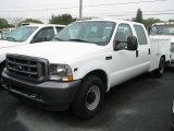 2002 Oxford White Ford F250 Super Duty Crew Cab #42874313
