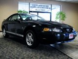 2002 Black Ford Mustang V6 Coupe #42922890