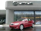 2008 Matador Red Mica Lexus IS 250 AWD #42928664