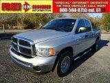 2005 Bright Silver Metallic Dodge Ram 1500 SLT Quad Cab #42928818