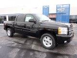 2011 Black Chevrolet Silverado 1500 LT Crew Cab 4x4 #42928357