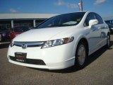 2007 Taffeta White Honda Civic Hybrid Sedan #42928155