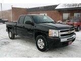 2009 Black Chevrolet Silverado 1500 LT Extended Cab 4x4 #42928396