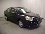 2007 Black Chevrolet Malibu LS Sedan #42928640