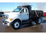 2008 Ford F650 Super Duty XLT Regular Cab Chassis Dump Truck Data, Info and Specs