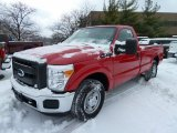 2011 Ford F250 Super Duty Vermillion Red