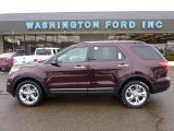 2011 Bordeaux Reserve Red Metallic Ford Explorer Limited 4WD #42990369