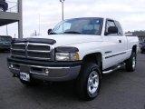 2001 Bright White Dodge Ram 1500 ST Club Cab 4x4 #42990685