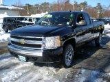 2007 Black Chevrolet Silverado 1500 LT Extended Cab #42989752