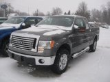 2011 Sterling Grey Metallic Ford F150 XLT SuperCab 4x4 #42990777