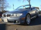 2004 Steel Blue Metallic BMW 3 Series 330i Convertible #42989823