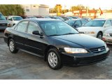 2002 Nighthawk Black Pearl Honda Accord SE Sedan #42990457