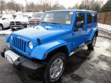 2011 Cosmos Blue Jeep Wrangler Unlimited Sahara 4x4 #42989833