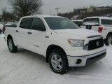 2008 Super White Toyota Tundra SR5 CrewMax 4x4 #42990867