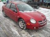 2003 Blaze Red Crystal Pearl Dodge Neon SXT #42990206
