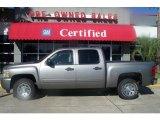 2007 Graystone Metallic Chevrolet Silverado 1500 LT Crew Cab #4292067