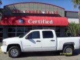 2008 Summit White Chevrolet Silverado 1500 LT Crew Cab #4292113
