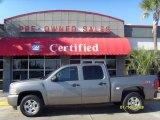 2008 Graystone Metallic Chevrolet Silverado 1500 LT Crew Cab #4292069