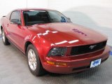 2007 Redfire Metallic Ford Mustang V6 Deluxe Coupe #42990559
