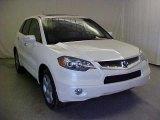 2008 White Diamond Pearl Acura RDX Technology #42990572