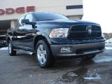 2011 Hunter Green Pearl Dodge Ram 1500 SLT Outdoorsman Crew Cab 4x4 #43080369
