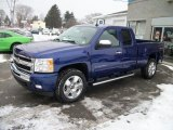 Laser Blue Metallic Chevrolet Silverado 1500 in 2011