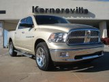 2011 White Gold Dodge Ram 1500 Laramie Crew Cab 4x4 #43080374