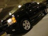 2007 Black Chevrolet Silverado 1500 LTZ Crew Cab 4x4 #43080148