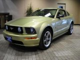 2006 Legend Lime Metallic Ford Mustang GT Premium Coupe #43079697