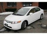 2007 Taffeta White Honda Civic LX Sedan #43079982