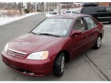 2002 Radiant Ruby Red Pearl Honda Civic EX Sedan #43079986