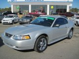 2000 Silver Metallic Ford Mustang V6 Coupe #43080254