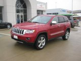 2011 Jeep Grand Cherokee Inferno Red Crystal Pearl