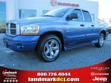 2006 Atlantic Blue Pearl Dodge Ram 1500 Sport Quad Cab #43080063
