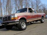1995 Ford F250 XLT Extended Cab 4x4 Front 3/4 View