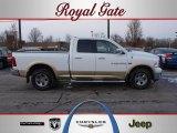 2011 Bright White Dodge Ram 1500 Laramie Quad Cab 4x4 #43079861