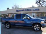 2006 Atlantic Blue Pearl Dodge Ram 1500 Sport Quad Cab #43145417