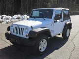 2011 Bright White Jeep Wrangler Sport S 4x4 #43145650