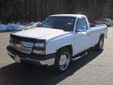 2006 Summit White Chevrolet Silverado 1500 Work Truck Regular Cab #43145657