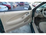 2000 Ford Mustang V6 Coupe Door Panel